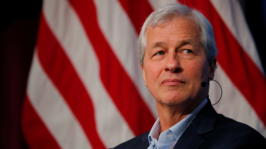 Trump Responds to 'Nervous Mess' Jamie Dimon's Comments