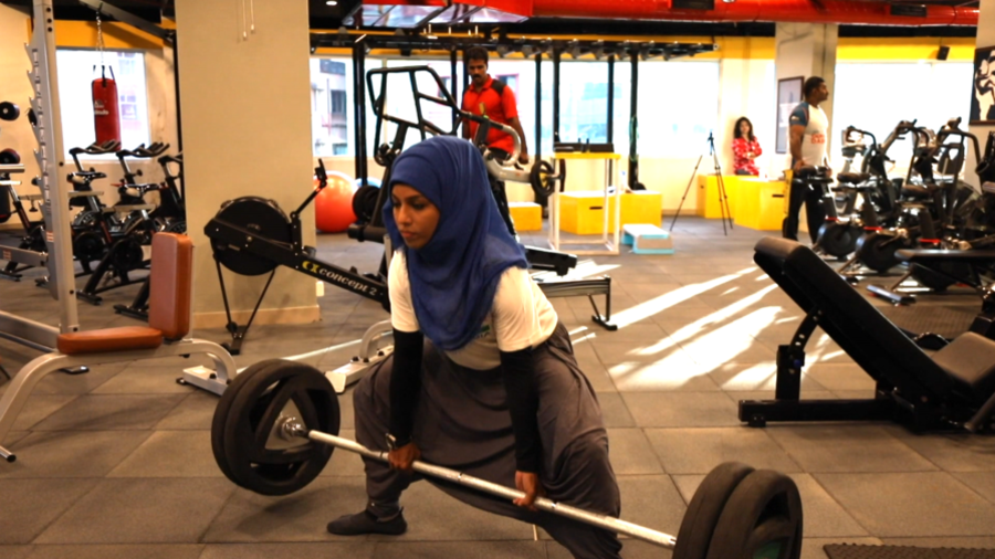 'Strongest woman ever': Hijab-wearing bodybuilder defying stereotypes in India