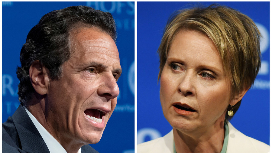 Cynthia Nixon anti-Semitism smear mailer came from within Governor Cuomo's campaign team