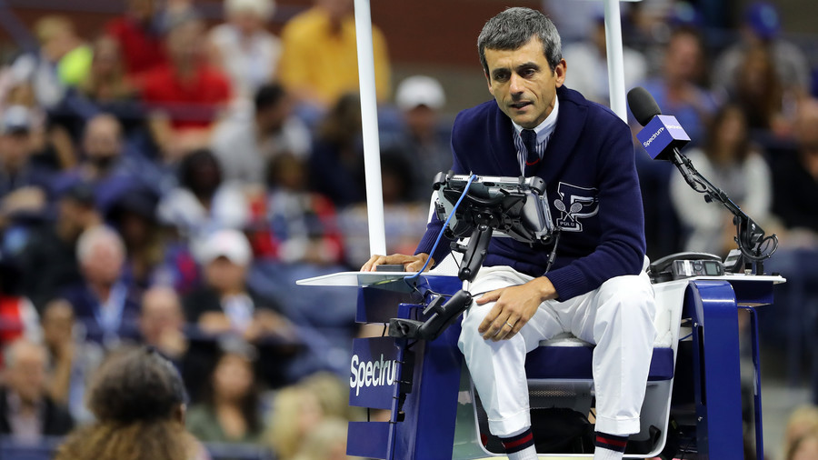 Back in the chair: Ramos set to officiate at Davis Cup semi-final after Williams 'sexism' storm