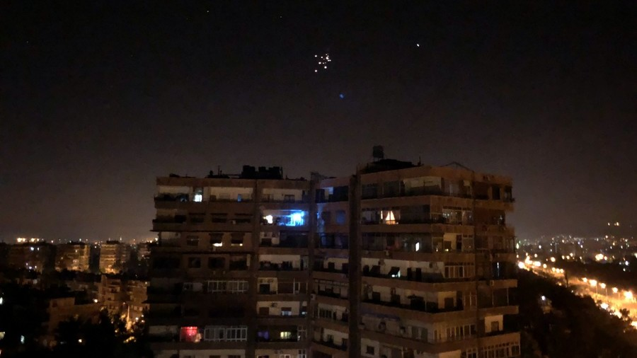 Israeli missiles intercepted in strike near Damascus airport, Syrian state media reports