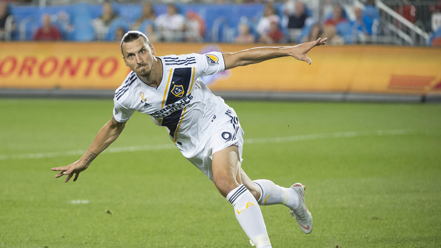 Zlatan happy to make Toronto his 500th goal victim