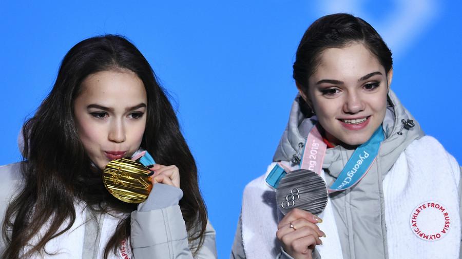 'I felt too uncomfortable to celebrate in front of Medvedeva' – Zagitova on Olympic triumph
