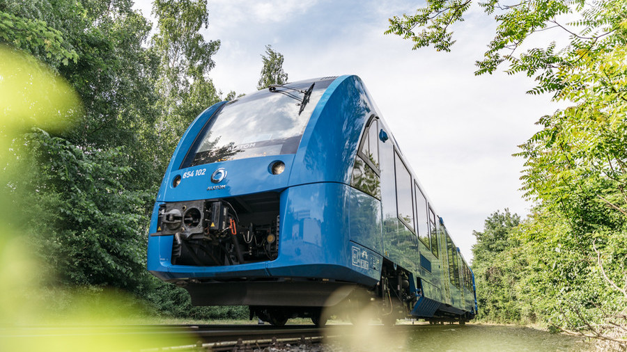World's first hydrogen-powered trains are now running in Germany