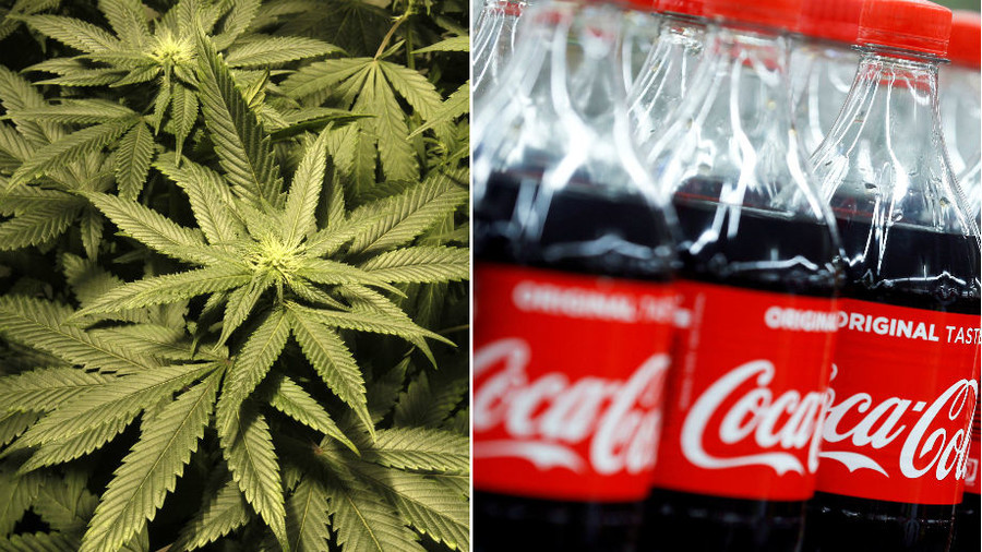 Coca-Cola says it's looking at potential cannabis drinks business