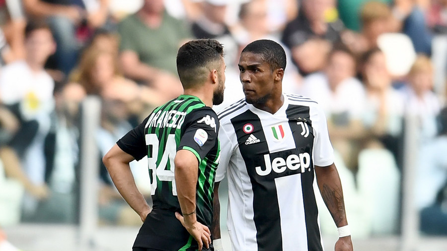 'You don't know what he said': Juventus winger Douglas Costa hits back in spit shame row