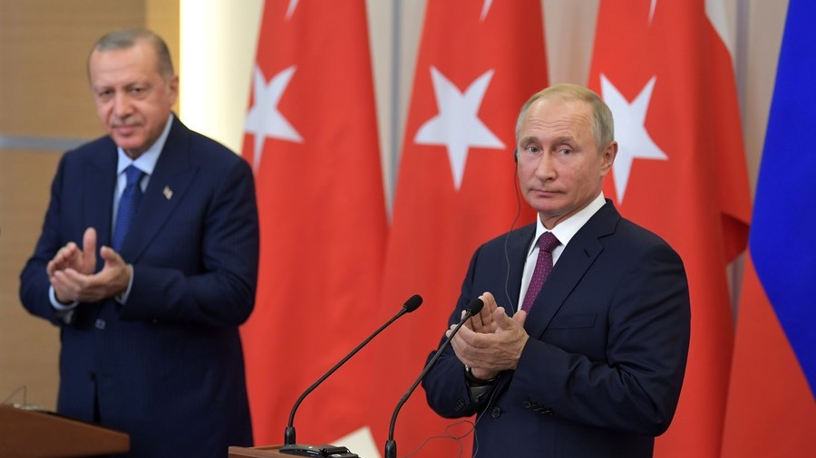 Russia, Turkey Agree to Create Buffer Zone in Syria's Idlib