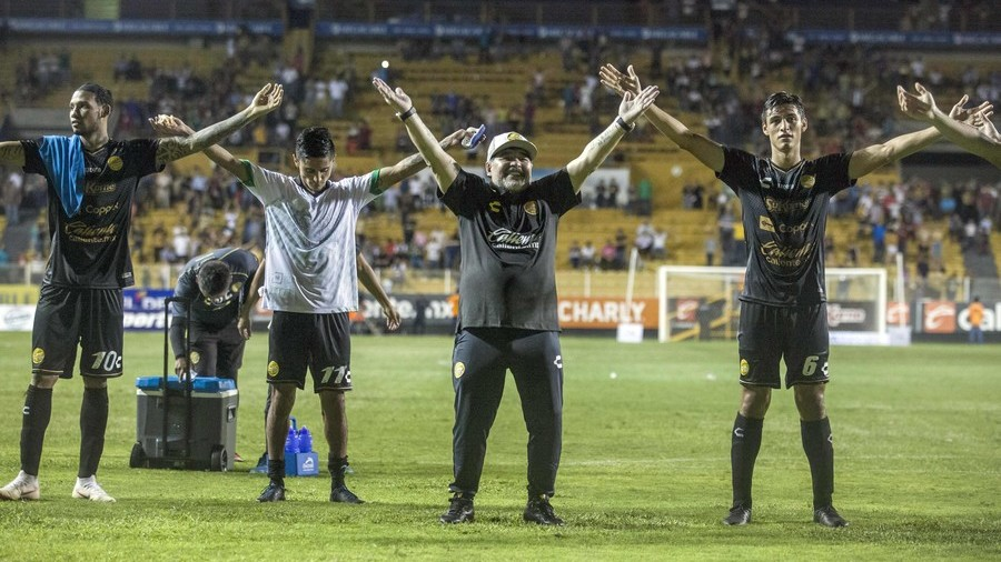 Maradona slams 'stupid' critics after flying start as manager in Mexico