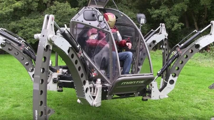 Meet Mantis: BB8 creator's six legged bot waltzes into record books (VIDEOS)