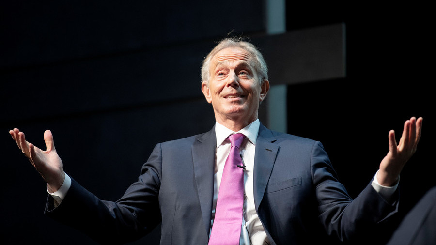 'He'll end up invading the pitch': Internet recoils after Tony Blair 'touted as Premier League boss'