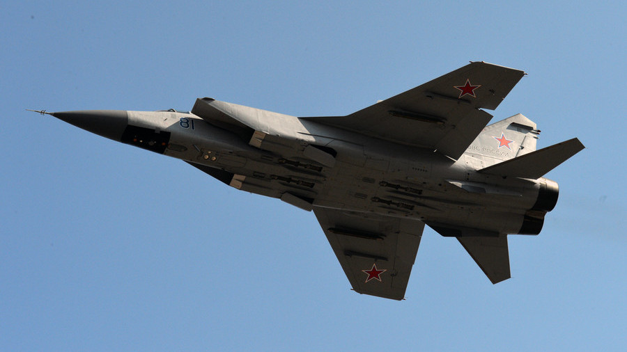 MiG-31 fighter jet crashes in Central Russia, both pilots eject safely
