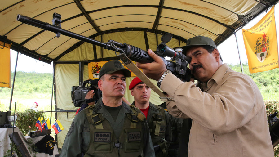 'Get your rifle, piece of trash': Maduro lashes out at OAS chief after 'military intervention' quote