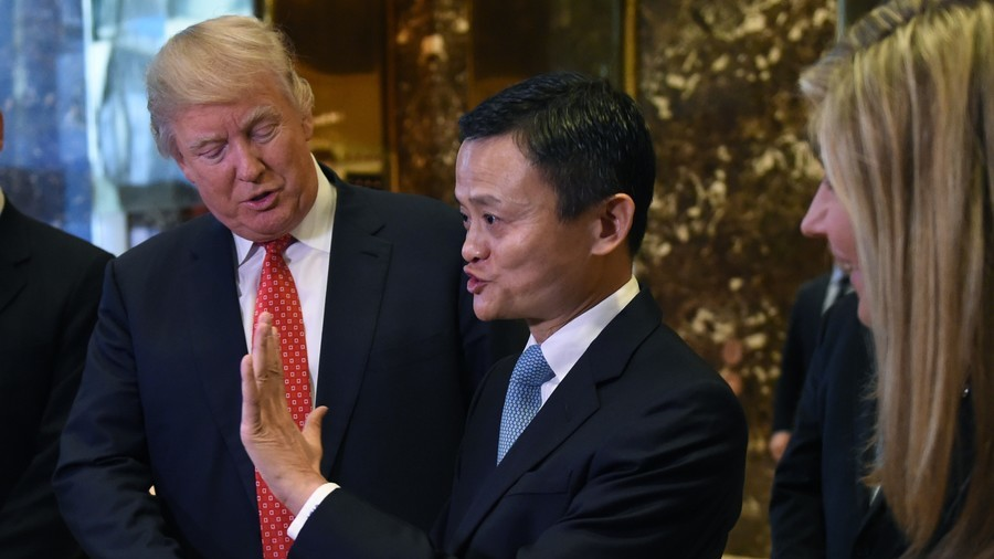 Alibaba's Ma says Trump's trade war 'destroyed' his promise to create jobs for 1mn Americans