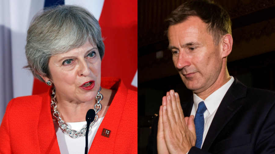 Tories leak 'secret plan' to ditch Theresa May as leader & list of possible successors