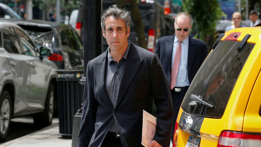 Michael Cohen praises own 'integrity & veracity' during Mueller probe in 'accidental' tweet