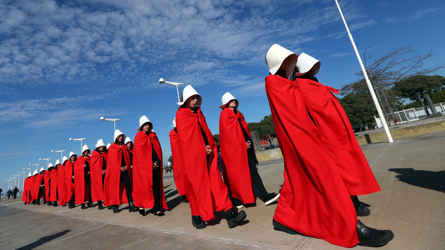 Sexy Handmaids Tale Halloween Costume Swiftly Removed From Sale
