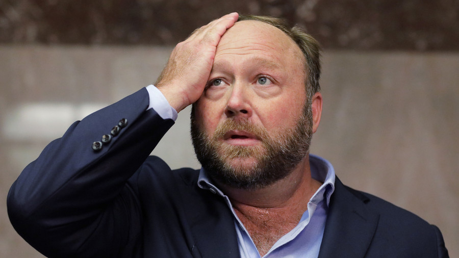 PayPal bans Alex Jones, InfoWars website from processing payments