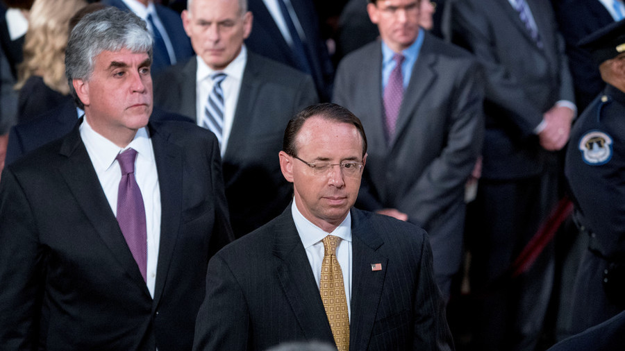 Tinker, traitor, lawyer, lie: NY Times claims DAG Rosenstein suggested secretly recording Trump