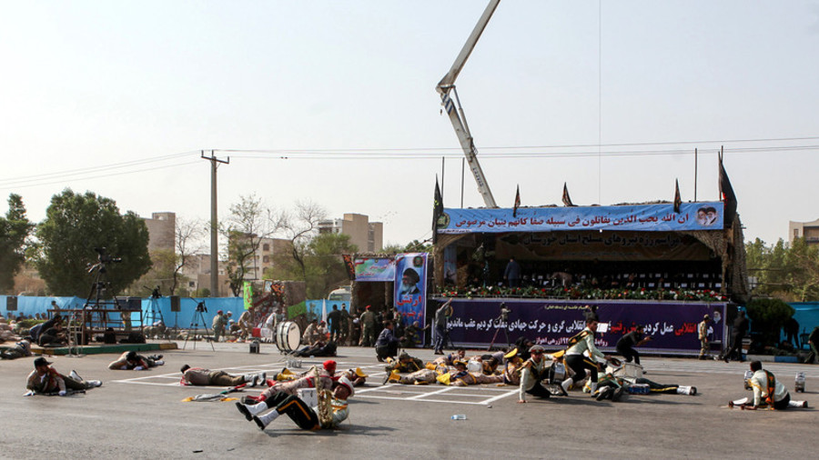 Iran blames 'regional terror sponsors & their US masters' after military parade attack