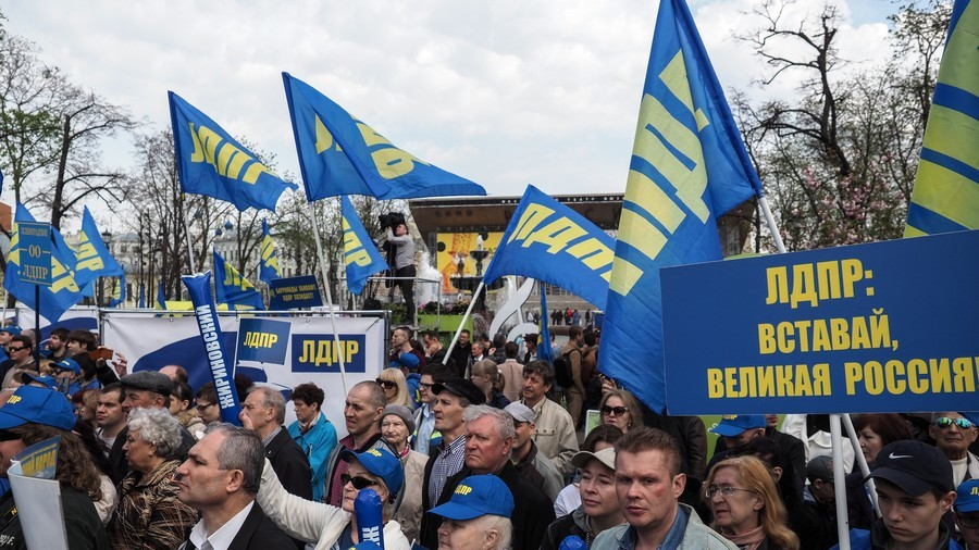 LibDems crush ruling party rivals in Russian Far East & central regions' governor elections