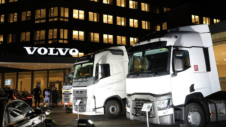 Volvo stops truck assembly in Iran due to US sanctions