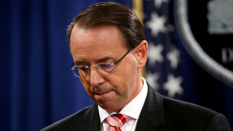 Rosenstein not fired today, will meet Trump again on Thursday