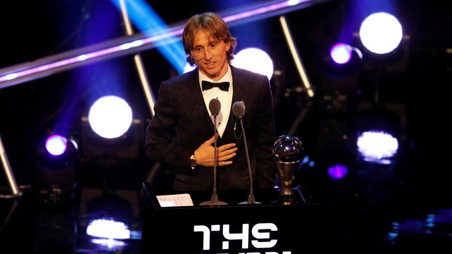 Modric beats Ronaldo & Salah to claim FIFA men's player of the year award