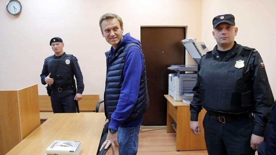 Navalnyj slapps fri