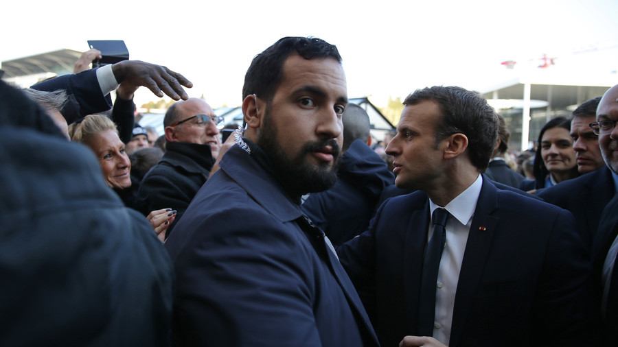 Compromising photo of Macron's aide posing with gun for selfie leaked to press