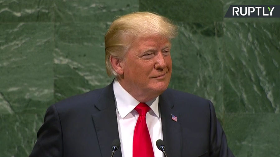 Trump slams Iran, illegal immigration, globalism during UNGA speech