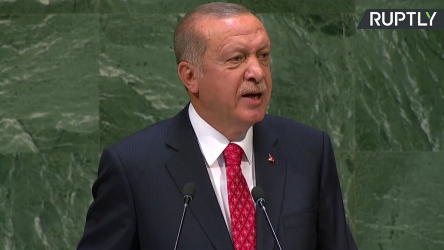 Erdogan calls for Security Council reform, hails Turkey's work in Syria during UNGA speech