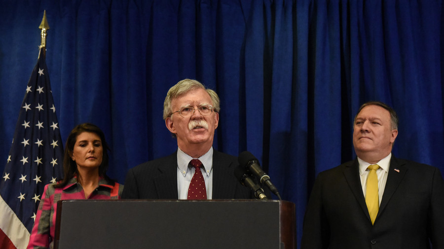 Bolton warns of 'hell to pay' if Iran crosses US & allies as Rouhani dares Trump to return to talks