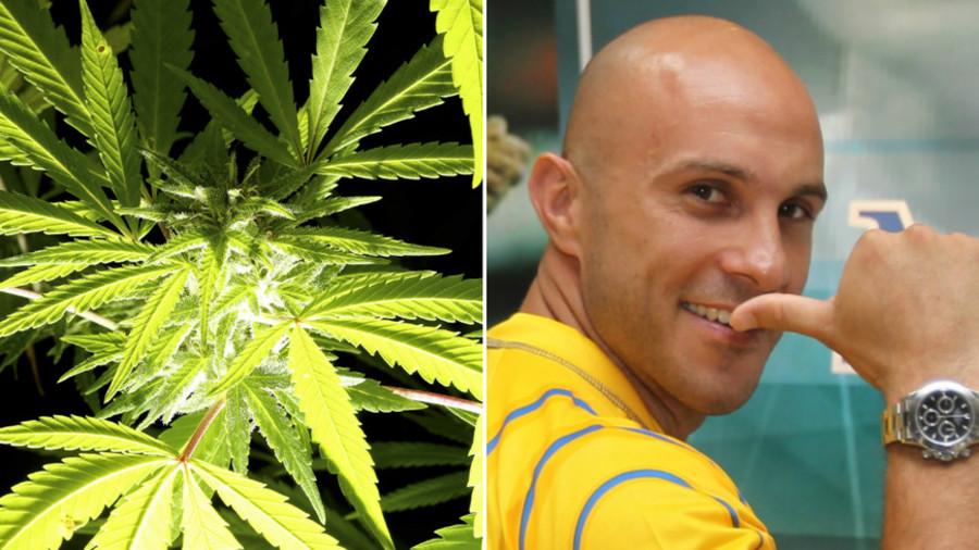 Joint enterprise: Ex-international footballer embarks on cannabis career