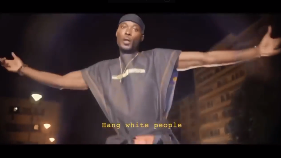 Black rapper's 'hang white people' video triggers meltdown in France