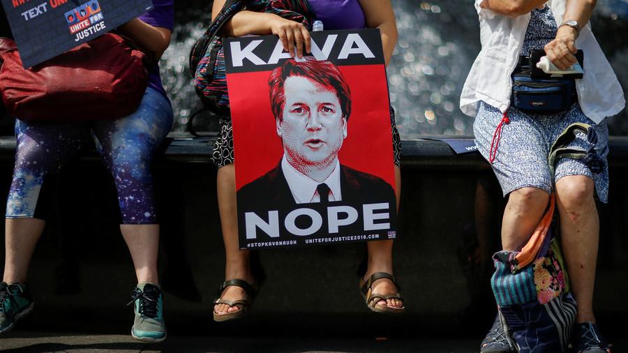 3rd Kavanaugh accuser reportedly threatened her ex-boyfriend & his baby