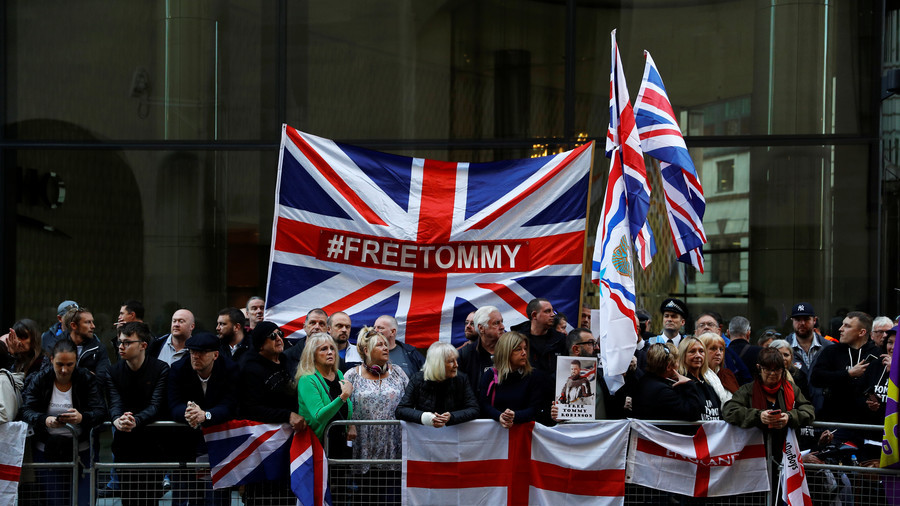 Rowdy supporters vow to rally again after Tommy Robinson case is adjourned