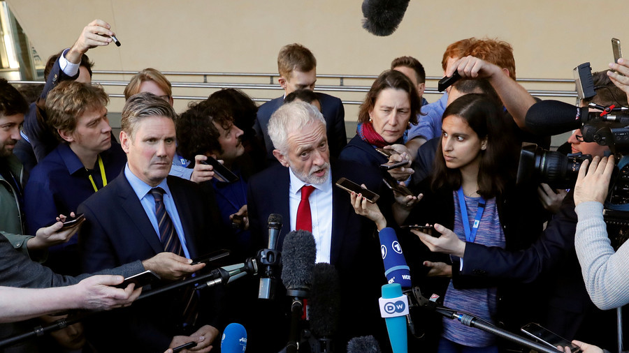 'Inaccuracies & distortions': UK media savaged over Labour anti-Semitism row in new report