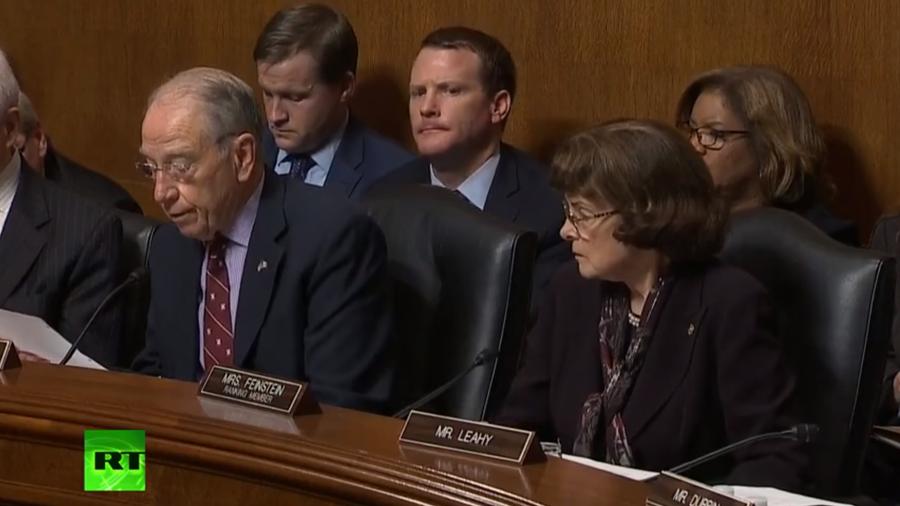 Senate committee votes on Kavanaugh after emotional hearing