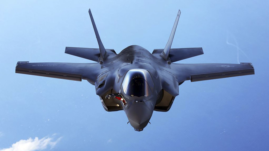 F-35B Crashes, Pilot Ejects