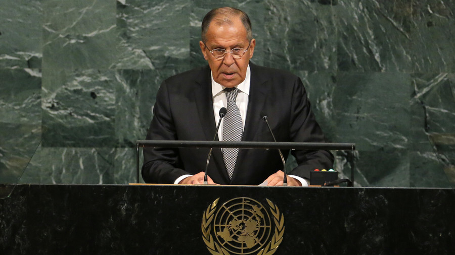 Russia's Lavrov speaks at UN General Assembly (WATCH LIVE)