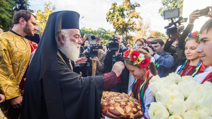 Patriarch of Alexandria pledges support to canonical Ukrainian Church, urges Orthodox unity (VIDEO)