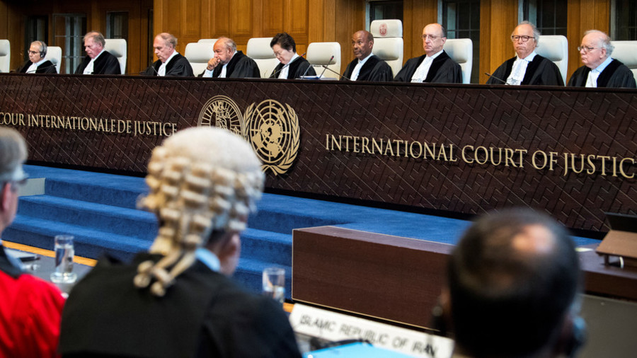 Palestinians complain to ICJ over relocation
