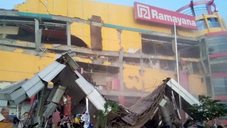 At least 384 people killed after quake & massive tsunami ravage Indonesian island (PHOTO, VIDEO)