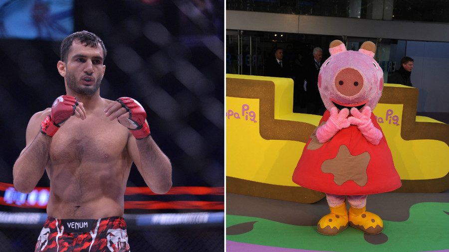 MMA fans disgruntled after Bellator main event replaced by Peppa Pig in TV coverage