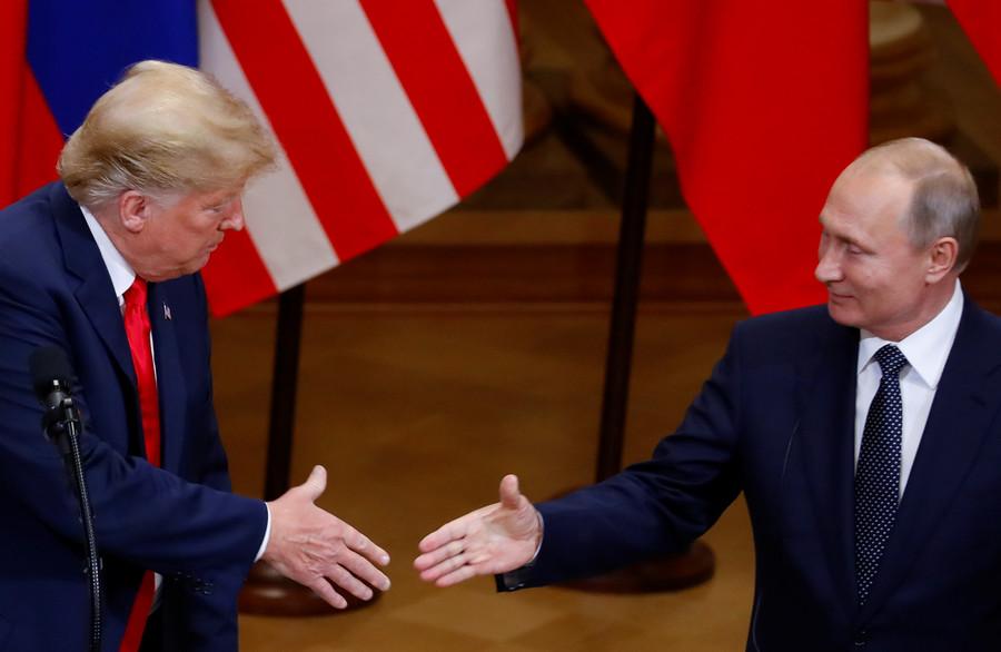 'Photo coming soon': White House coin marks Trump-Putin Helsinki summit as 'historic moment'