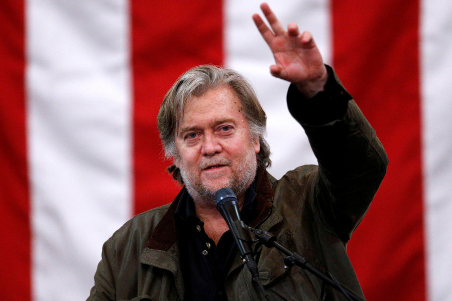 'Populist national revolt' grips west and is coming to Australia - Bannon warns
