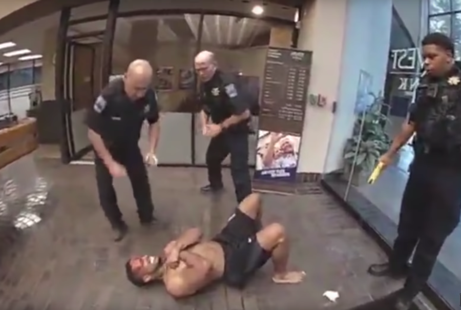 VIDEO shows cops repeatedly tasering black man who later died in hospital
