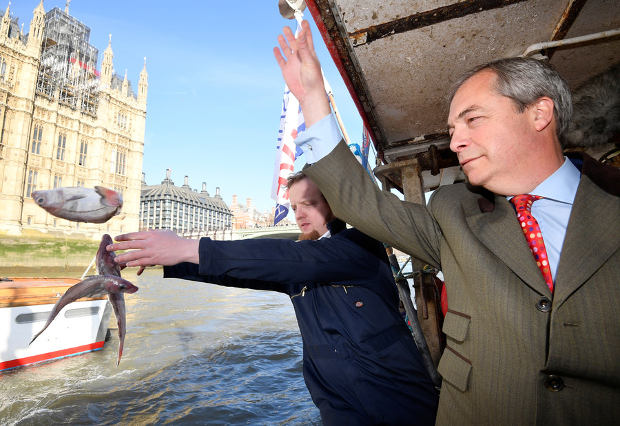 Farage considers running for mayor of London; would you vote for him? (POLL)