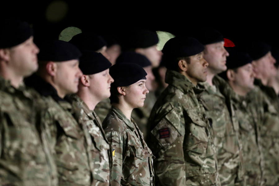 Suicide prevention guide tells UK armed forces: 'Seek help and ignore rank if you are suffering'