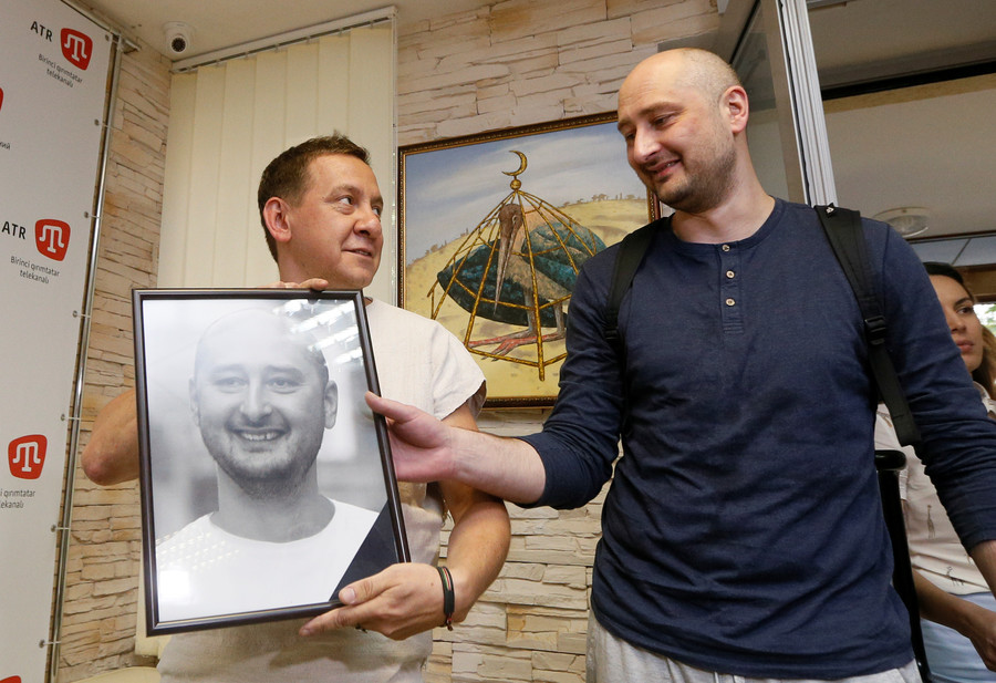 Nothing to see here: Ukraine quietly settles 'Lazarus' Babchenko case as West's media loses interest